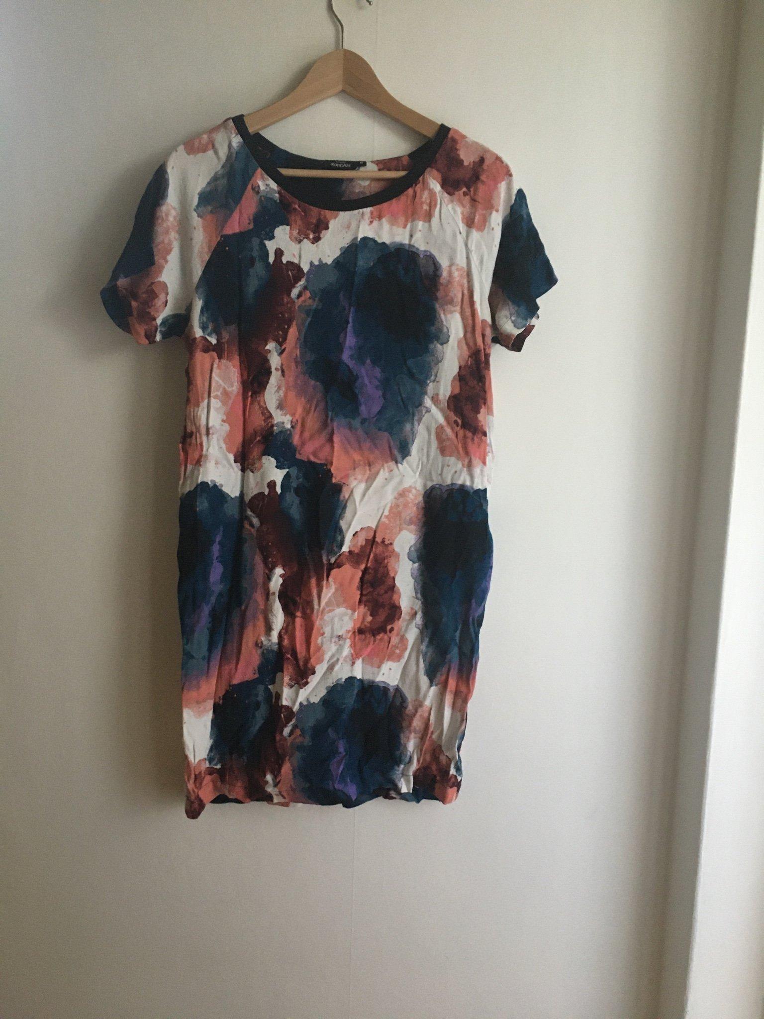 Batikmönstrad längre tröjaklänning (409839276) ᐈ Köp på
