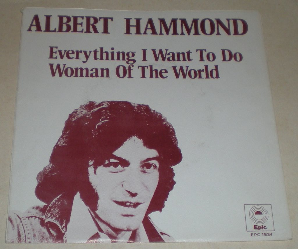 Albert Hammond SINGELOMSLAG Everything i want to do 1973
