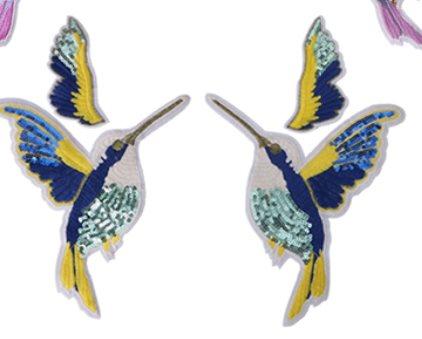 Tygmärke / Patch fåglar fågel