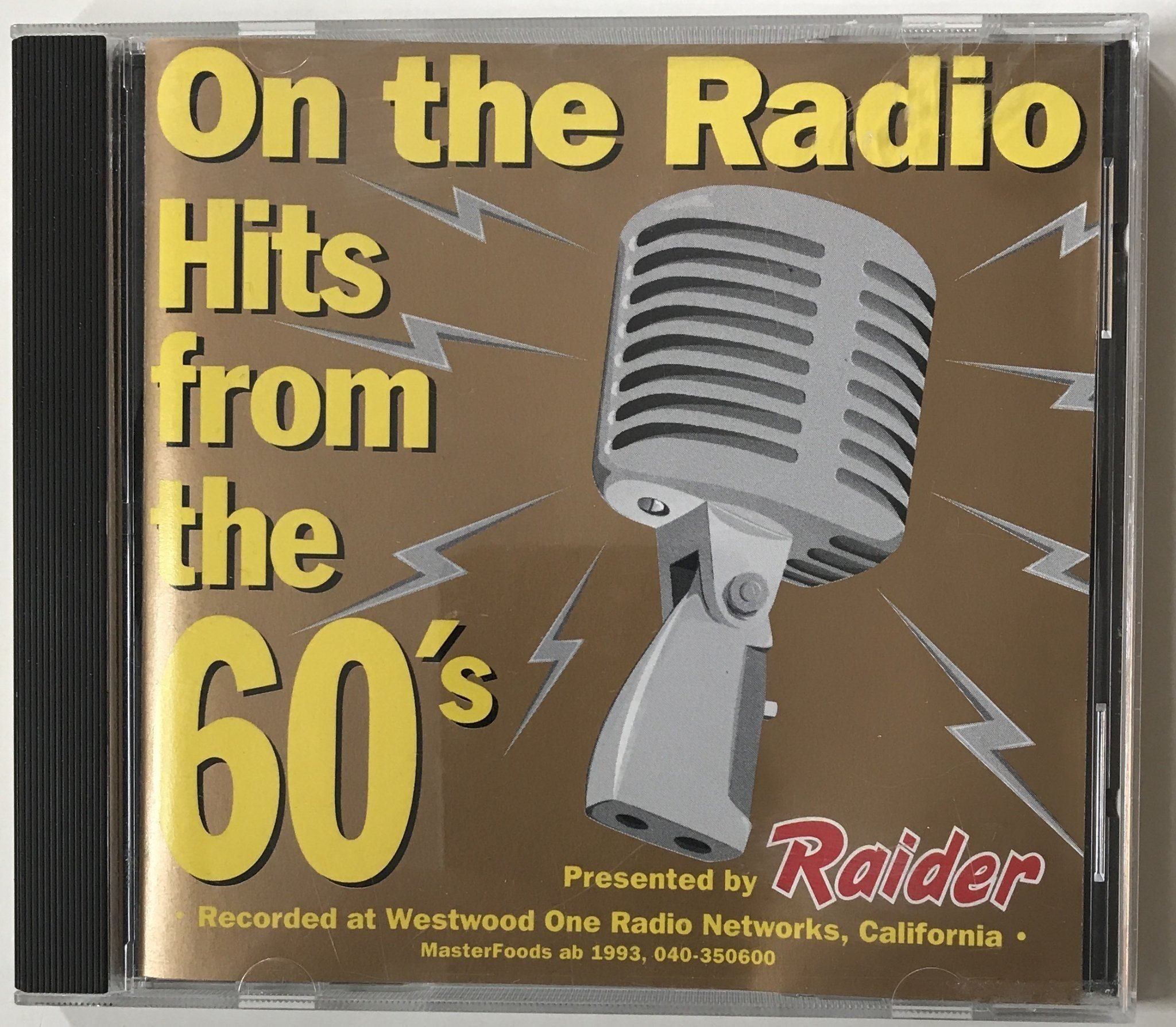 CD: On the Radio  Hits from the 60's  Reklam-CD   (354816453) ᐈ Köp