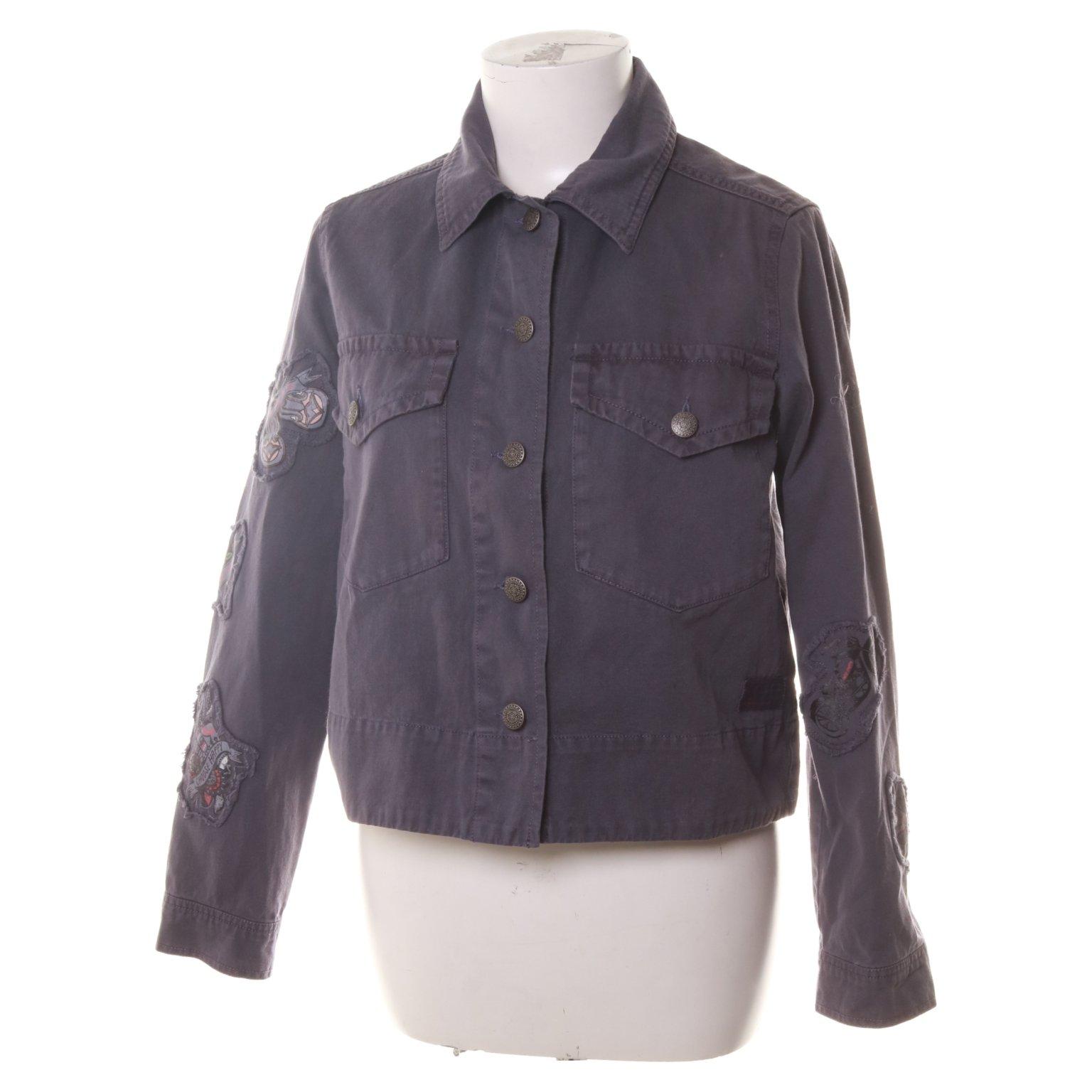 Odd Molly, Jeansjacka, Strl: XS, 922, Straight Up Nice Jacket, Blå, Bomull