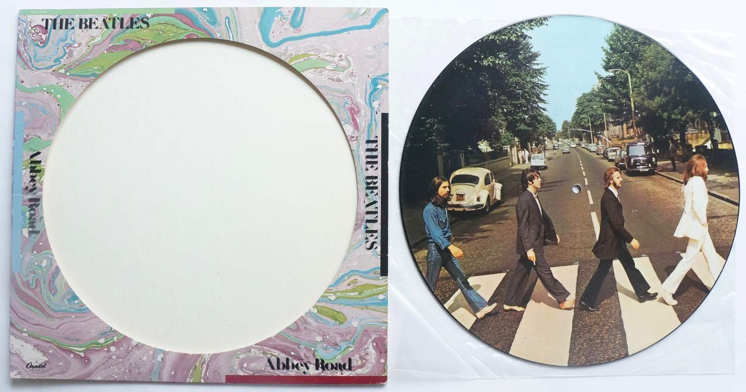 ** The Beatles ?– Abbey Road - Picture disc **