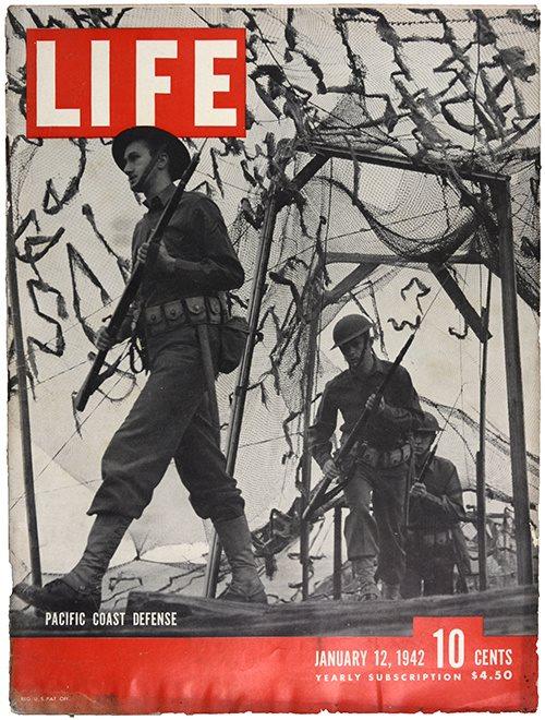 LIFE Pacific coast defense 1942-01-12