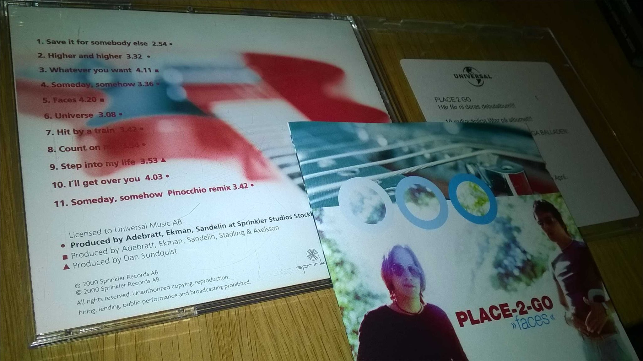 Place-2-Go - Faces, CD
