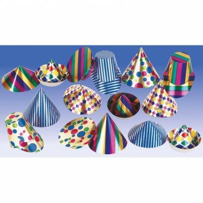 Partyhattar Mixade Färger - fest - k.. (330118142) ᐈ PartyPieces på ... 16daf9e2c81bb