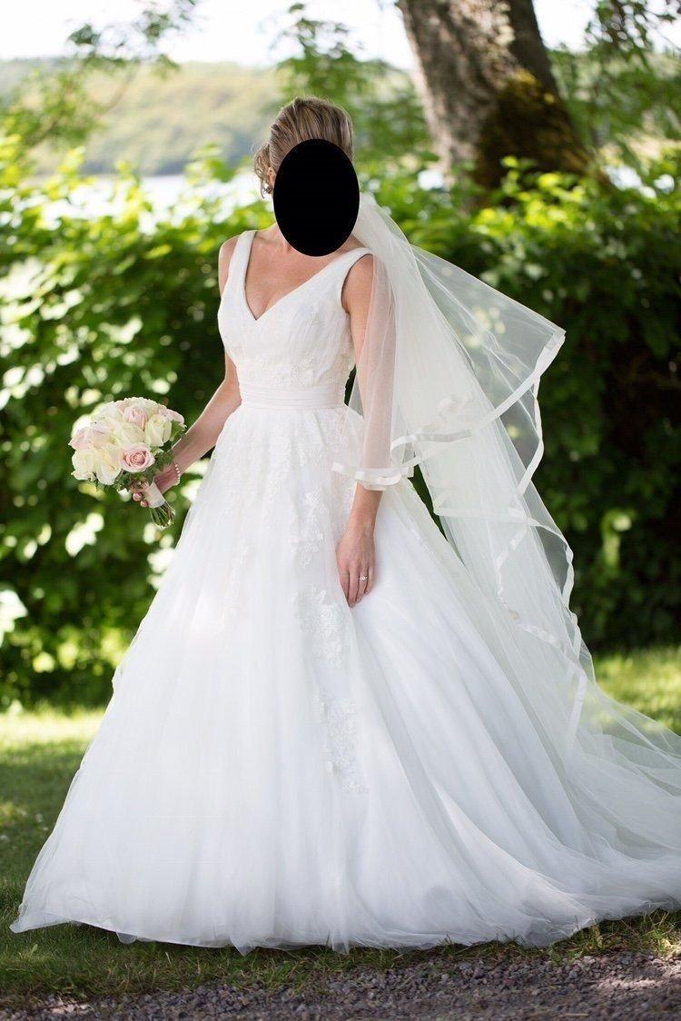 7ea2a6b14748 Fantastisk brudklänning (348528187) ᐈ Köp på Tradera