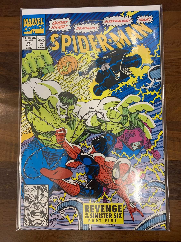 SPIDER MAN #20 NEAR MINT 1990