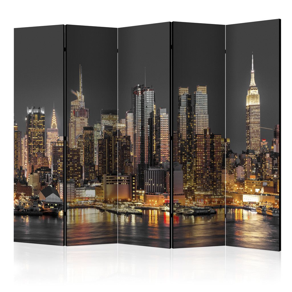 Rumsavdelare - New York at Twilight II Room Dividers 135x172