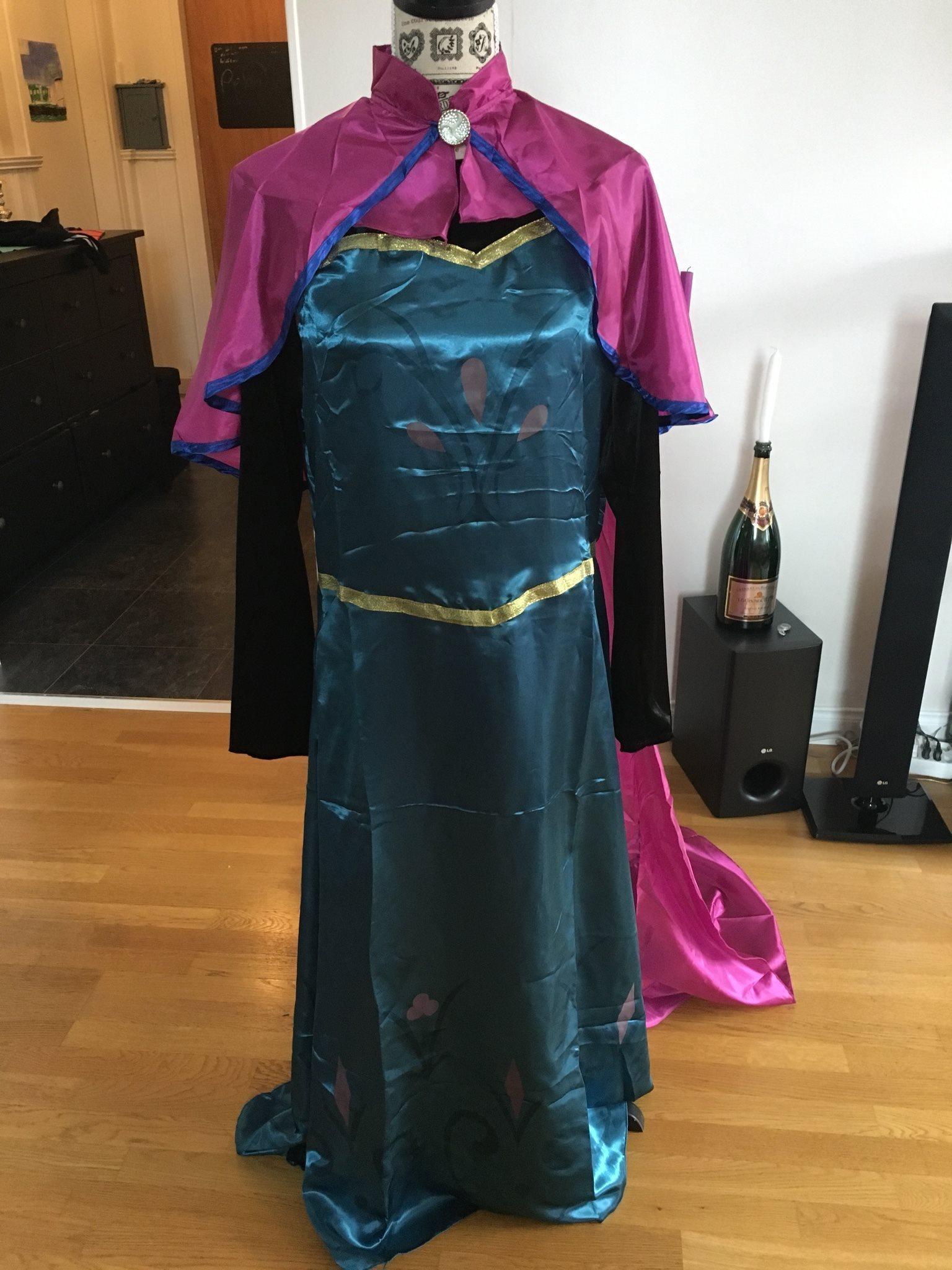 frozen anna klänning vuxen