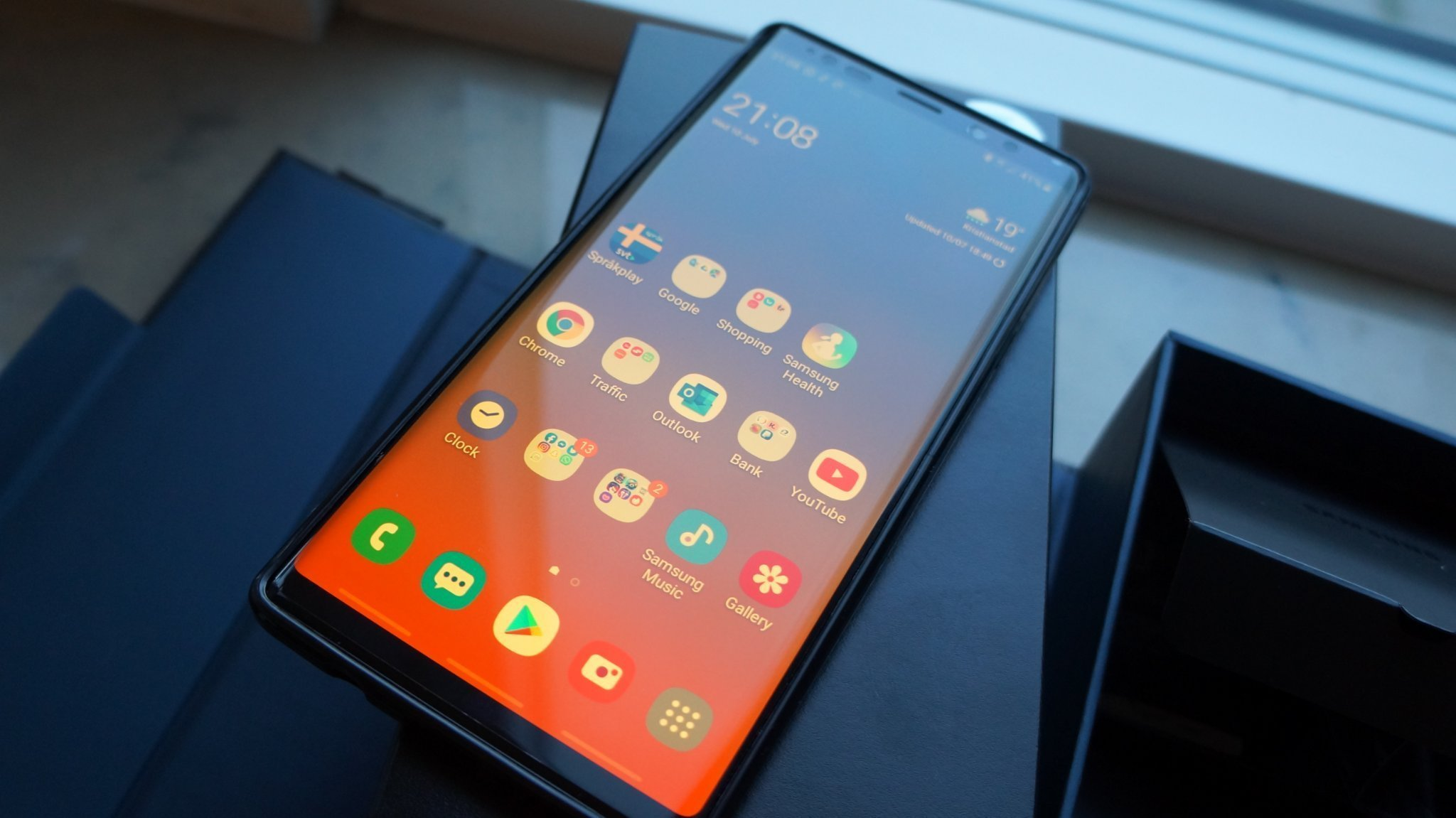 NY Samsung Note 9, 8GB RAM, 512GB ROM - Midnigh   (357818649) ᐈ Köp