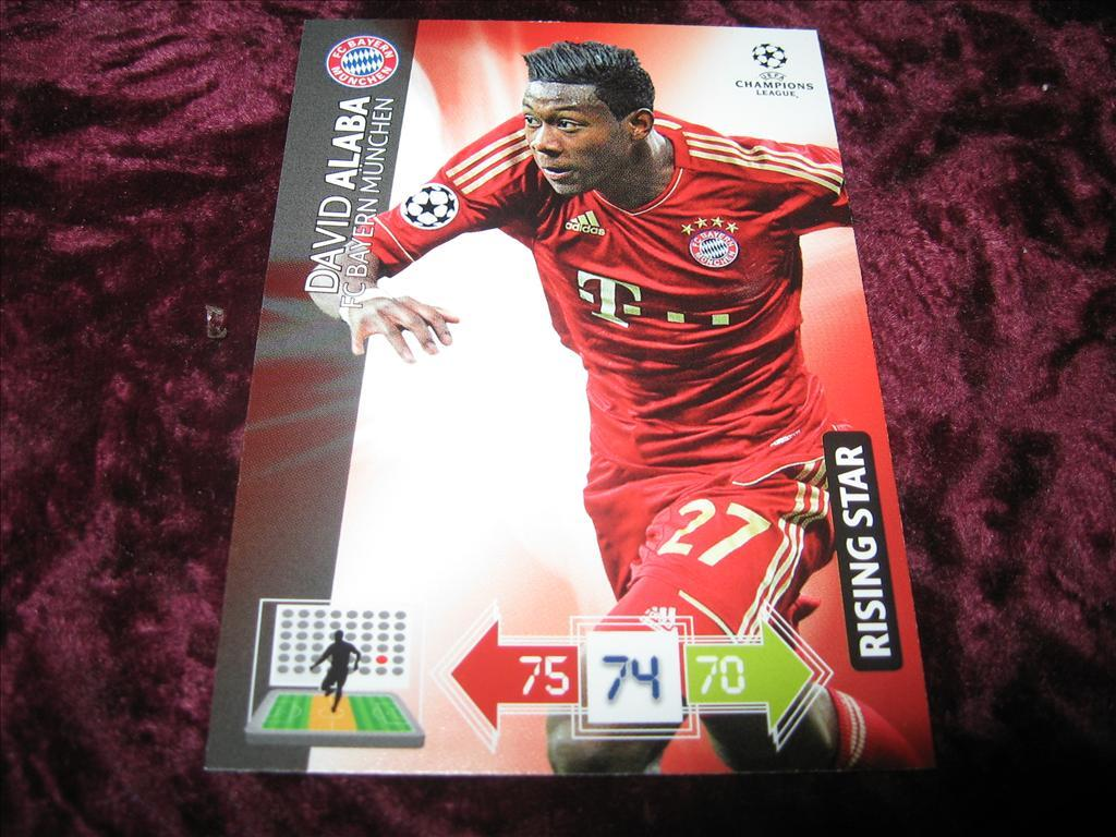 DAVID ALABA-BAYERN MUNCHEN-RISING STAR-UEFA CHAMPIONS LEAGUE 2012/2013