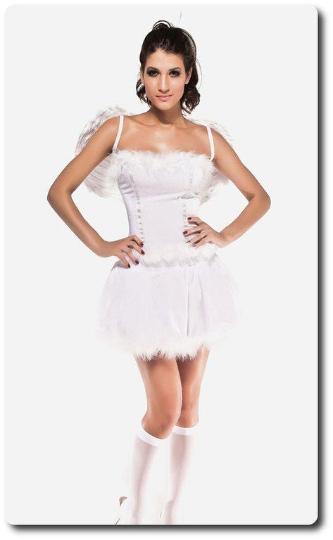 sexig ängel kostym