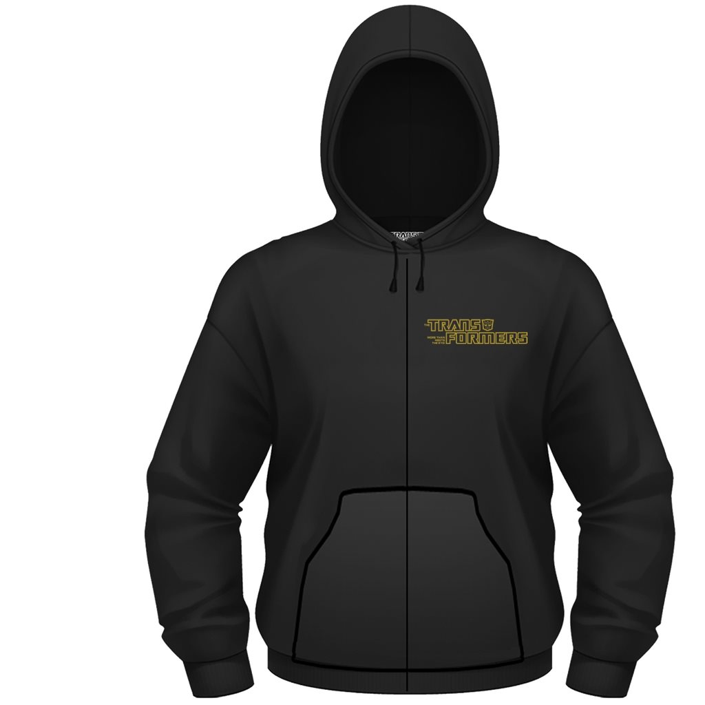 TRANSFORMERS GOLD AUTOBOT SHIELD Hoodie - Large