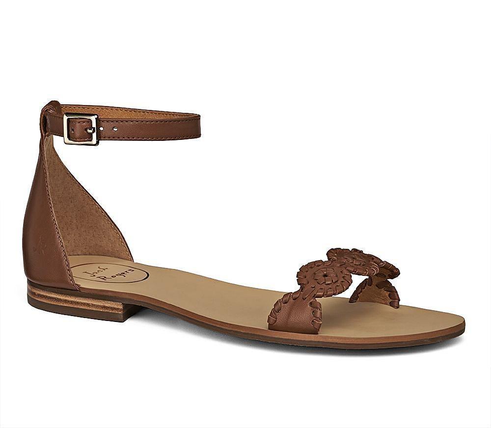 Sandal i skinn, stl 38 Jack Rogers brun