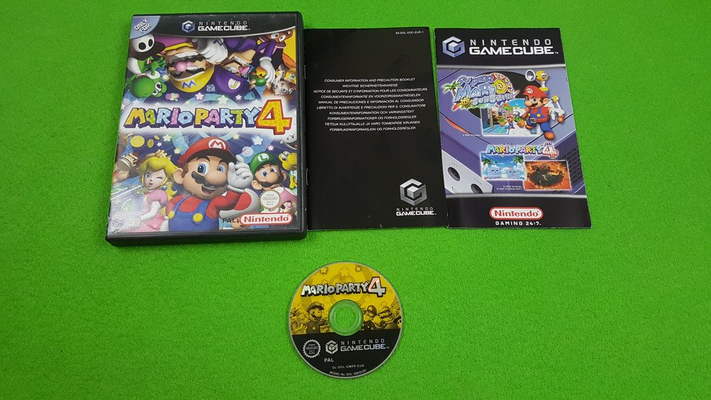 Mario Party 4 Gamecube Nintendo Game Cube