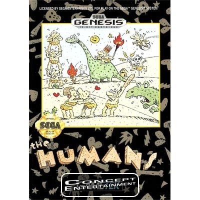 HUMANS THE (komplett) till Sega Mega Drive