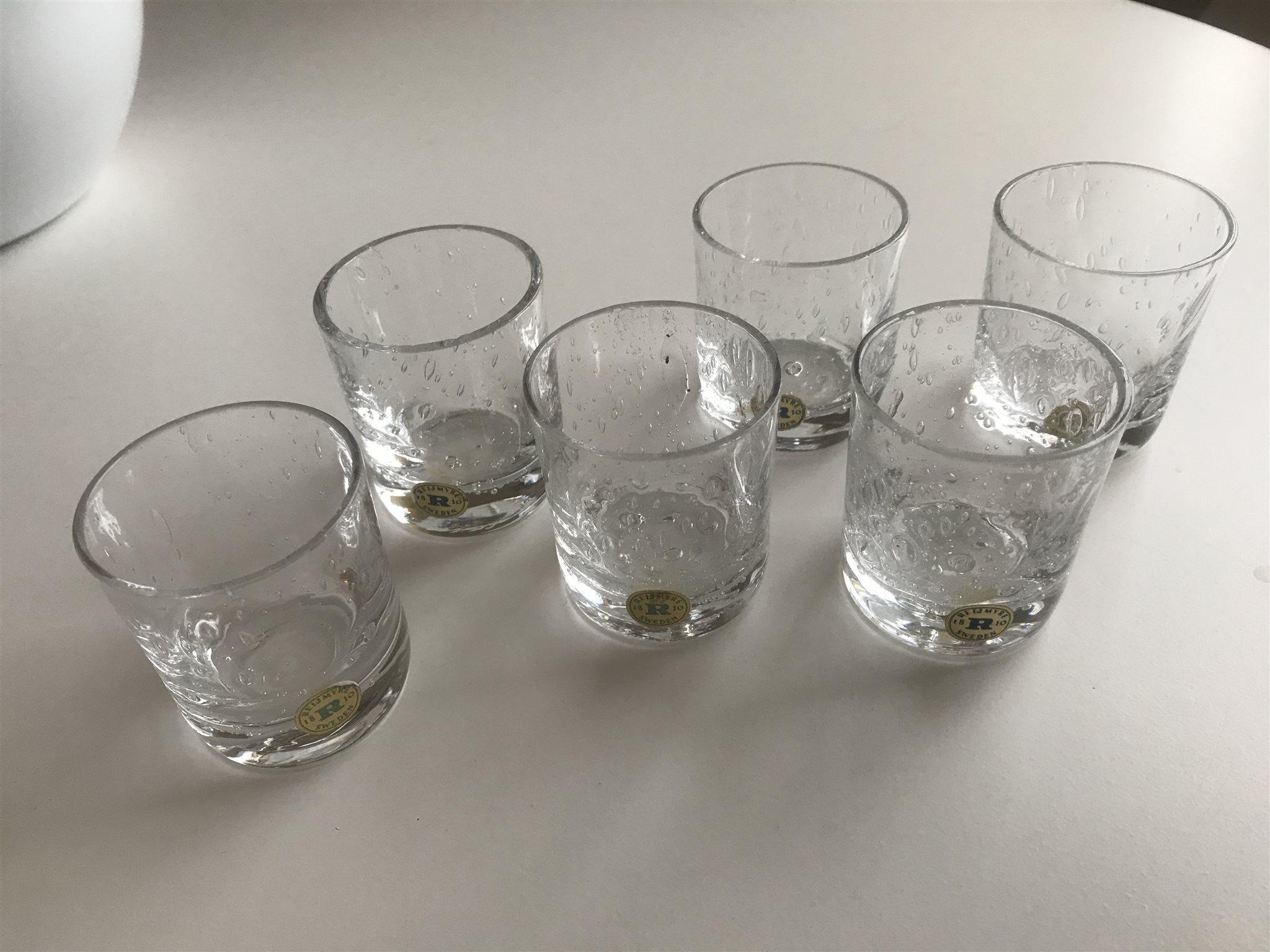 små glas