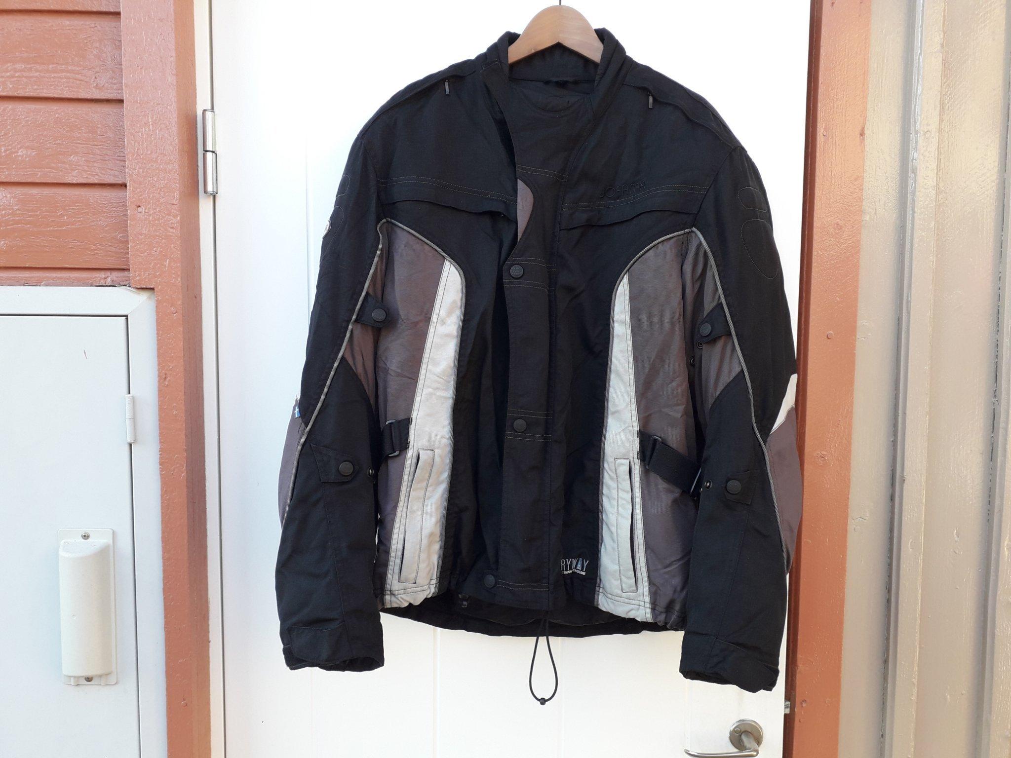 Jofama svarta MC byxor 52
