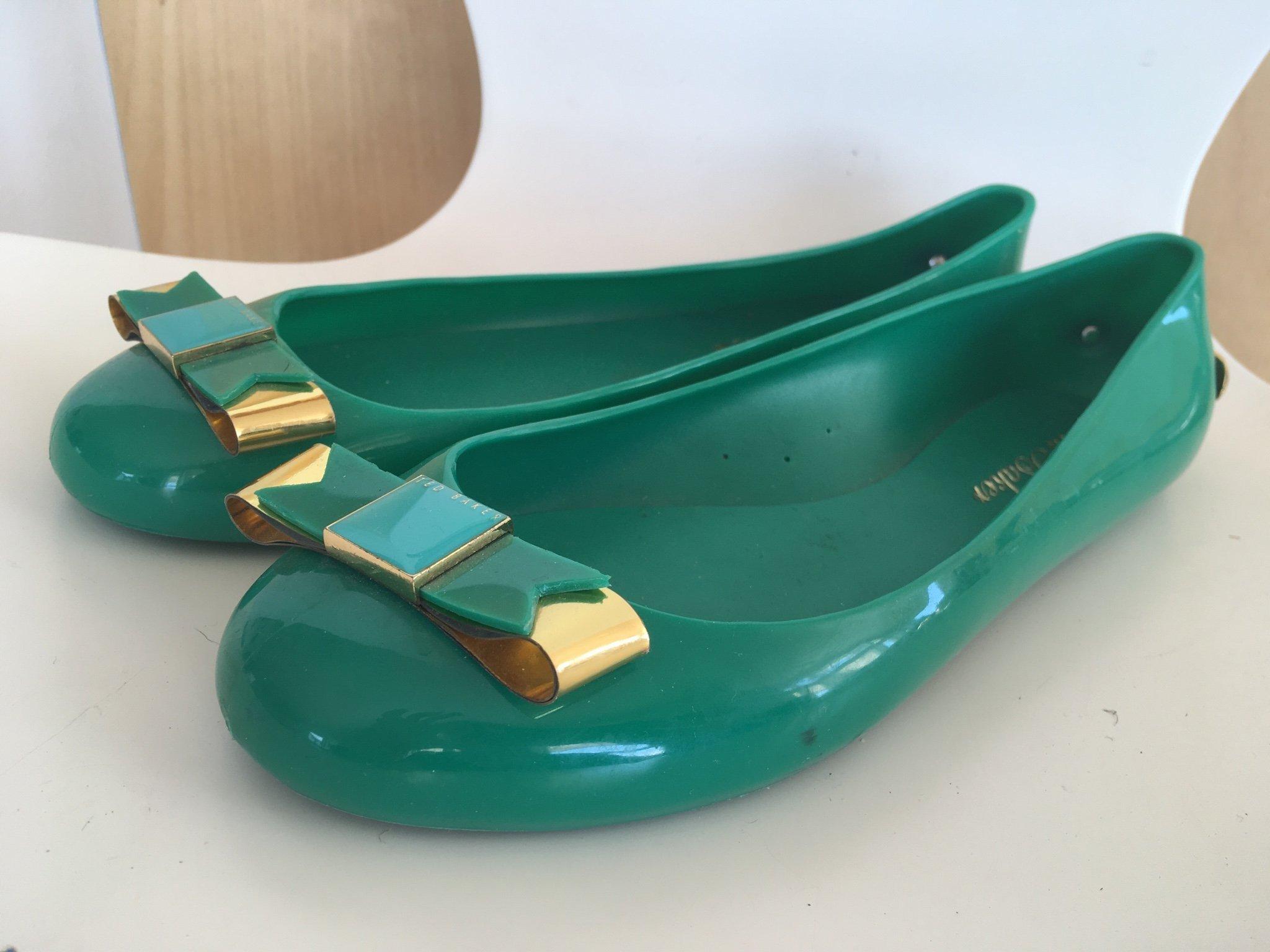 reputable site 676cc 9a2dd Nyskick! TED BAKER ballerina gummi gröna (358182549) ᐈ Köp ...