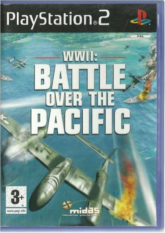 WWII: BATTLE OVER THE PACIFIC - FLYG/KRIG  (PS2 SPEL )