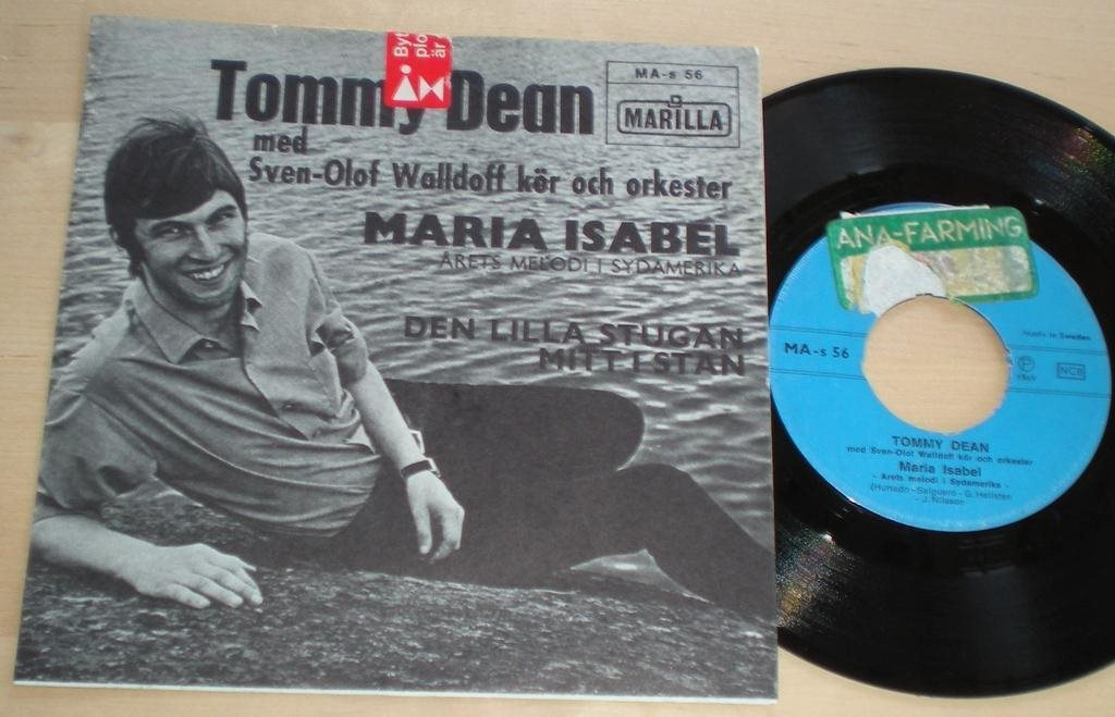 Tommy Dean 45/PS Maria Isabel 1970