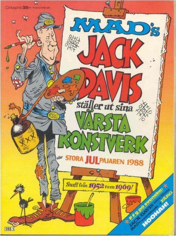 Mad´s stora Jul pajaren 1988