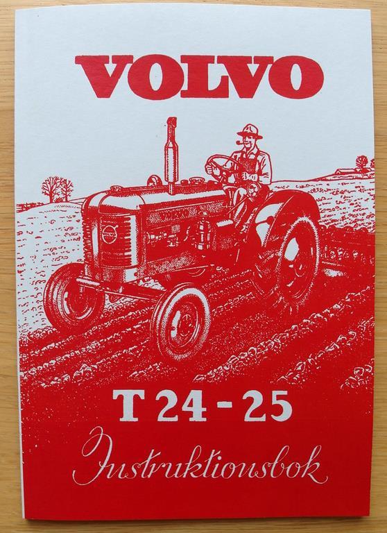 Volvo t25 instruktionsbok