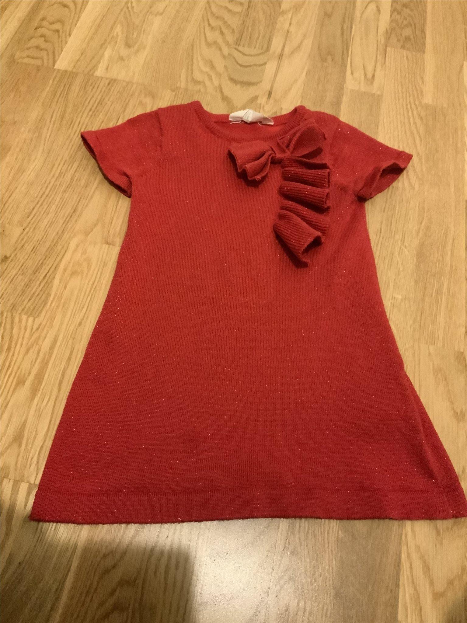 acda27ff0129 H&M kortarm klänning, stl 92. (351752819) ᐈ Köp på Tradera