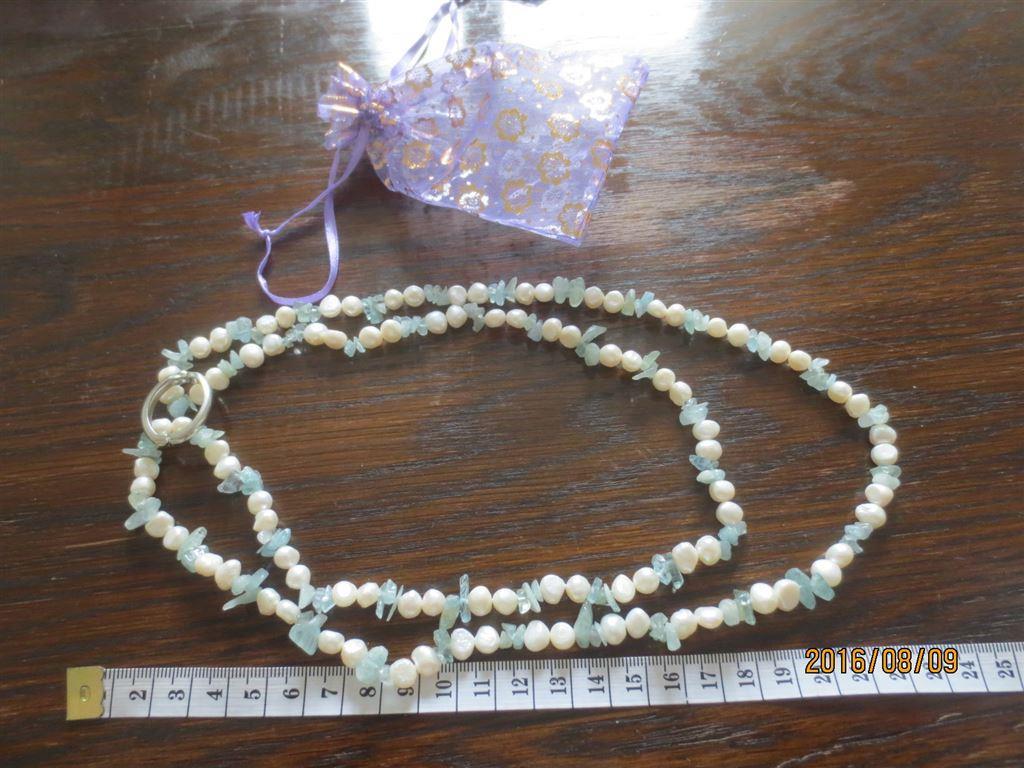 äkta pärlor halsband