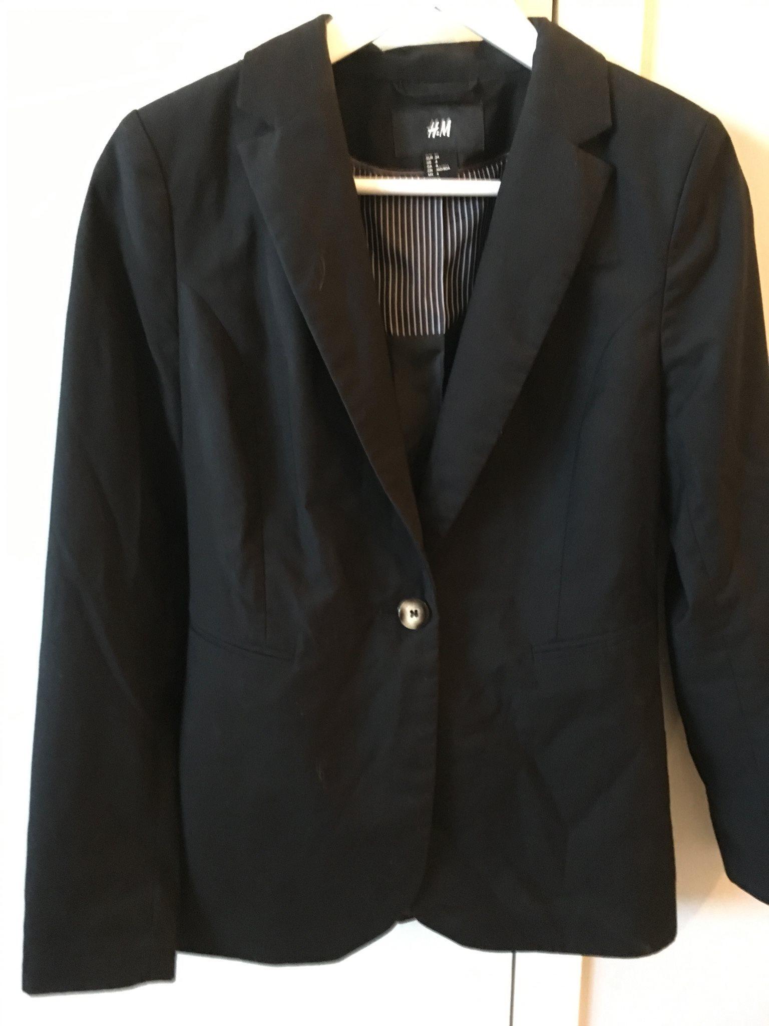 NYSKICK! Klassisk svart dam kavaj. Stl 34 XS. (335931185) ᐈ Köp på ... 2e60a25211252