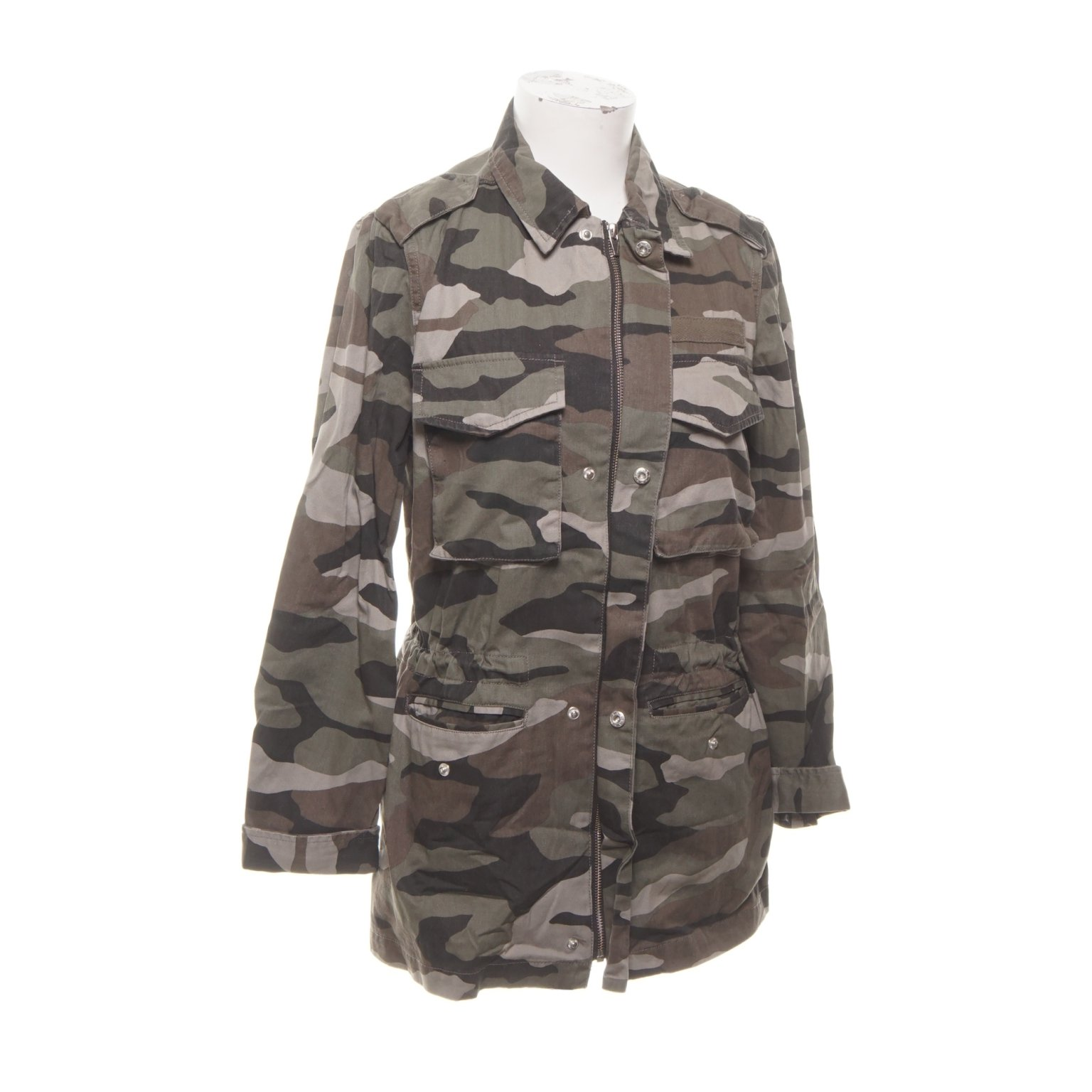camouflage jacka gina tricot