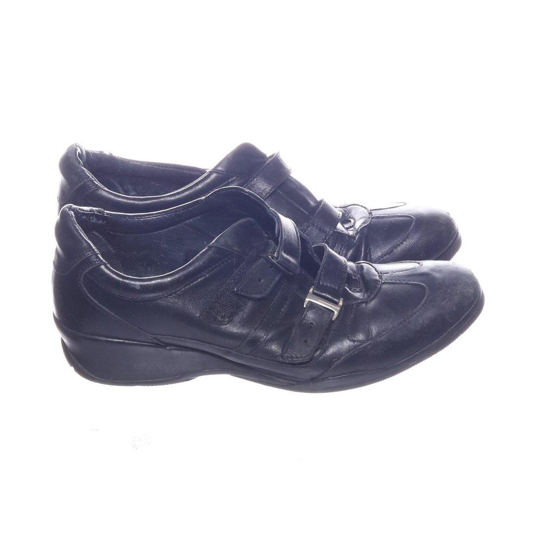 5416c5d200a Softwalk, Sneakers, Strl: 37, Svart, Skinn (344335878) ᐈ Sellpy på ...