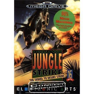 JUNGLE STRIKE (kassett) till Sega Mega Drive