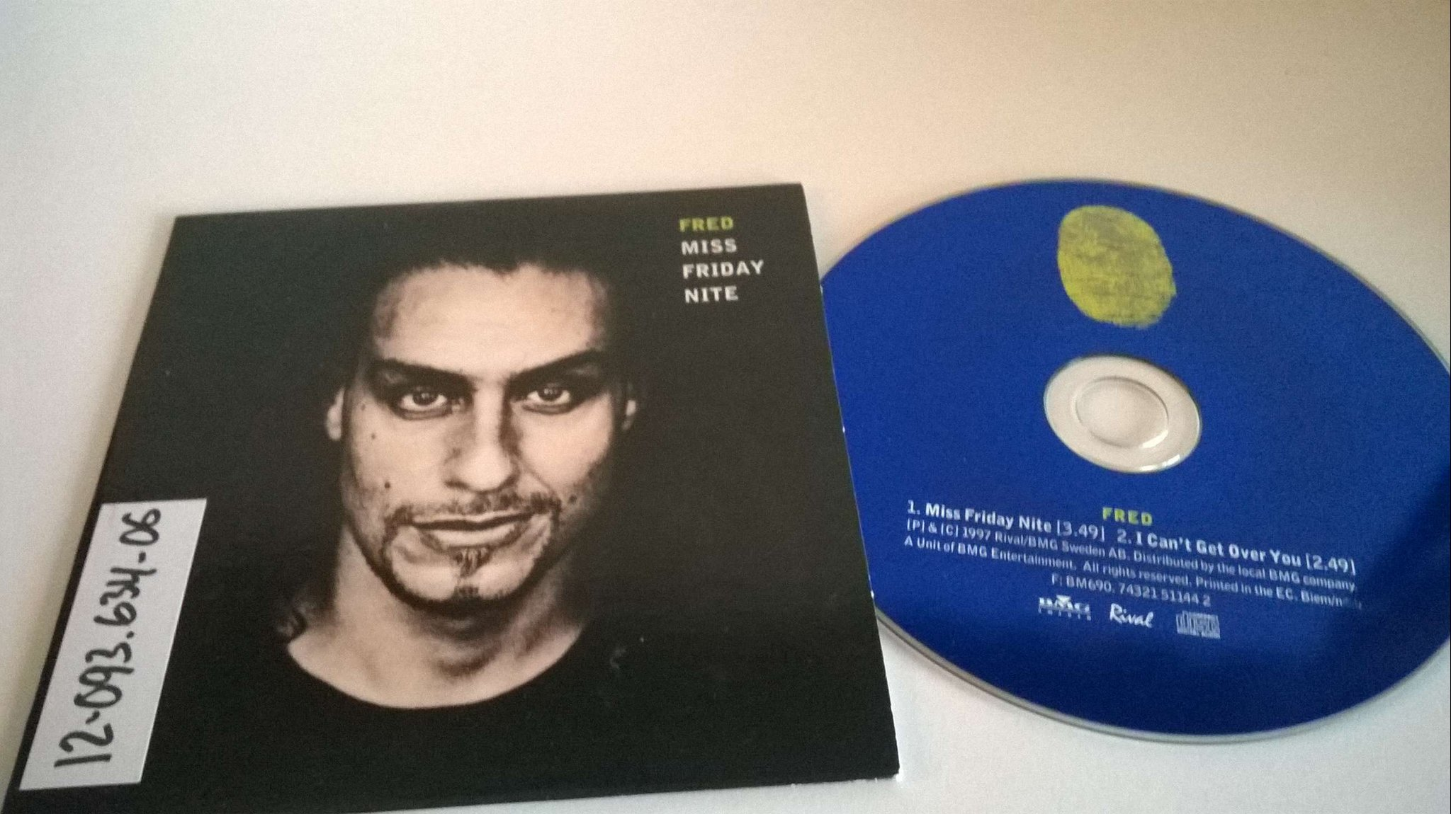 Fred - Miss Friday Nite, single CD