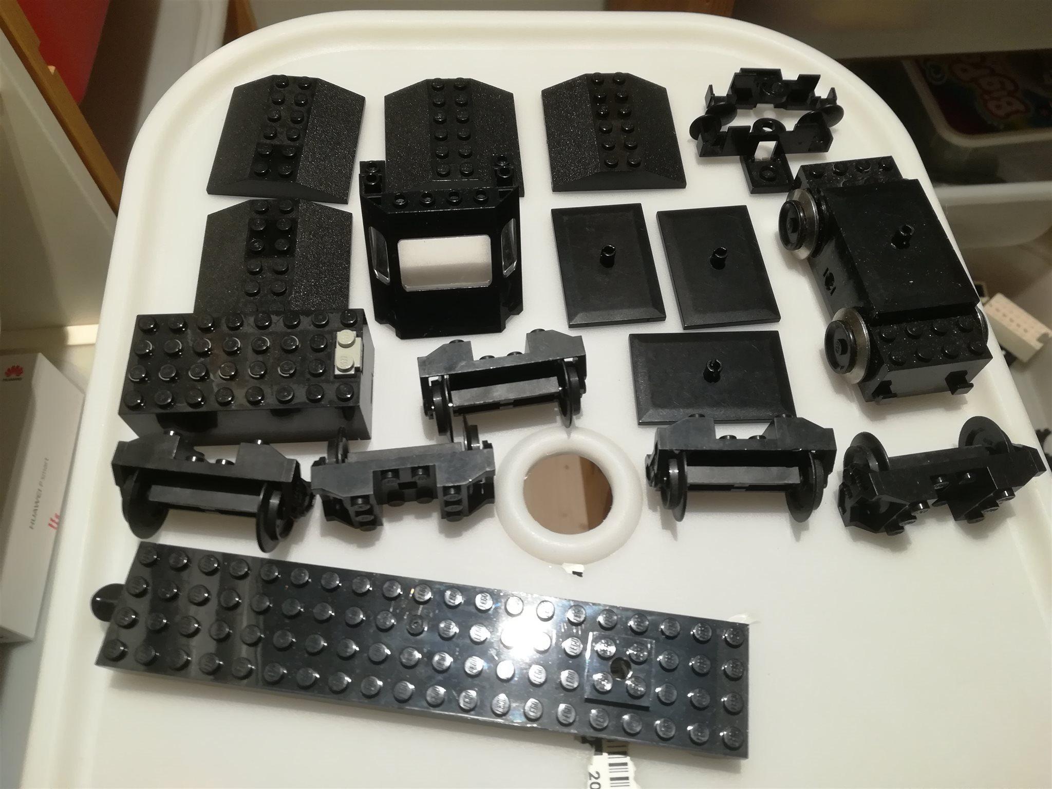 LEGO system diverse TÅGdelar