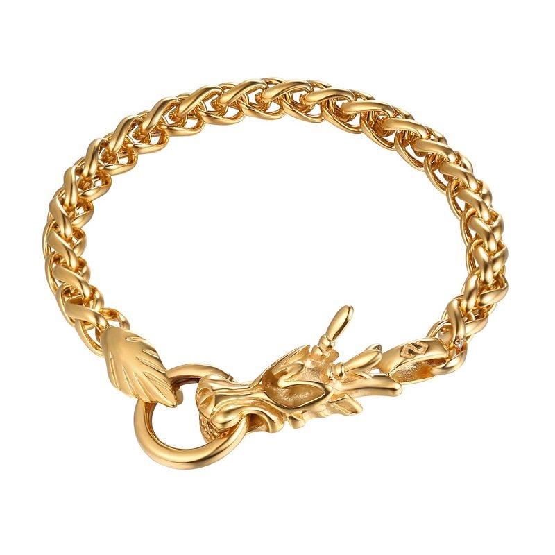 U7 Armband av en Kinesisk Drake - Guld (341492933) ᐈ eStore  på Tradera 1956f3c49c4e2
