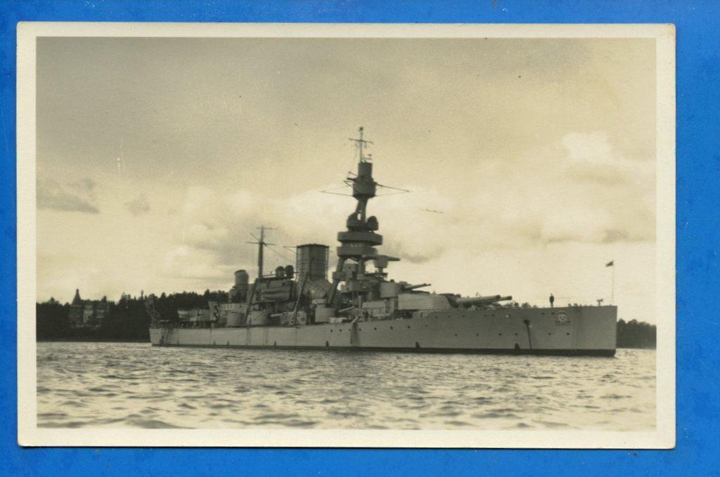 a28e5403ecfe HMS Gustaf V (Äkta fotovykort!!!) (344635811) ᐈ Nostalgia-2011 på ...