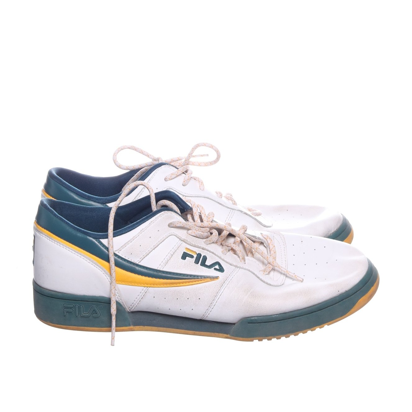 Fila, Sneakers, Strl: 44 12, VitBl?Gul (350304029) ?