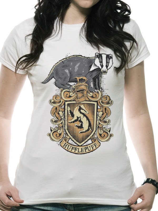 HARRY POTTER - HUFFLEPUFF (FITTED) - Medium