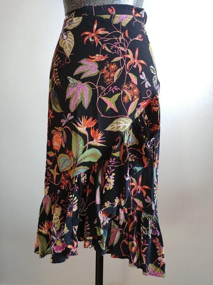 Blommig kjol från H&M