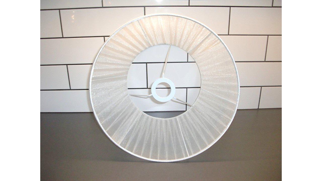 NY Stor Vit Vit Vit Lampskärm 193160