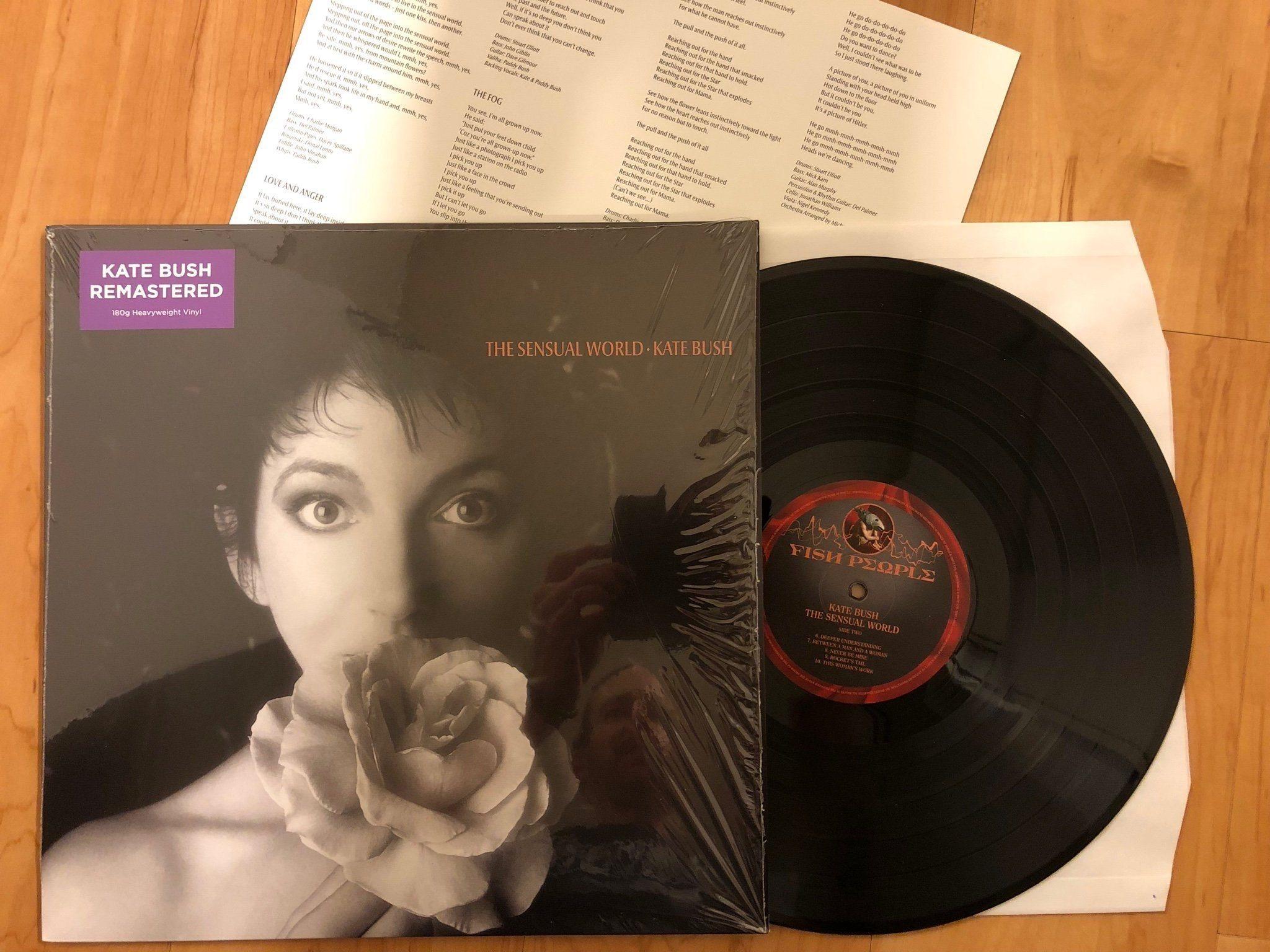Kate Bush - The Sensual World LP Remastered (346306660) ᐈ