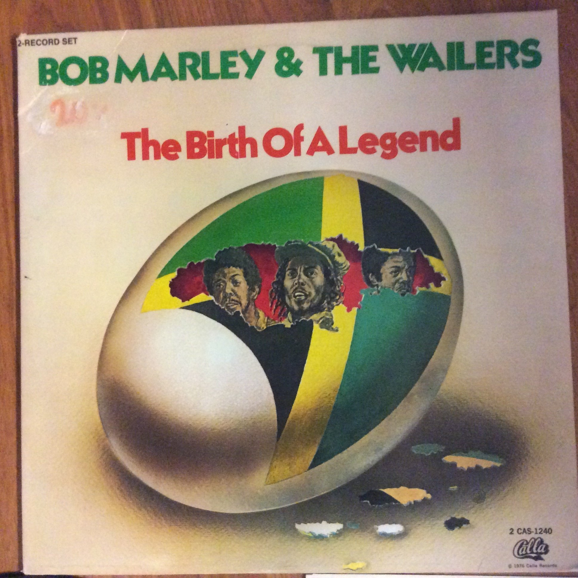 BOB MARLEY & THE WAILERS - THE BIRTH OF A LEGEND  1980