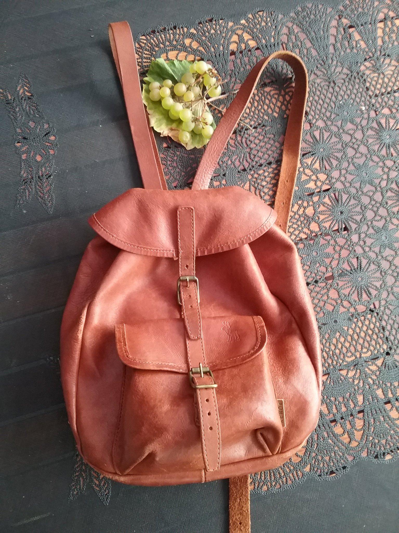 Ryggsäck i äkta renskinn väska (372296576) ᐈ Köp på Tradera