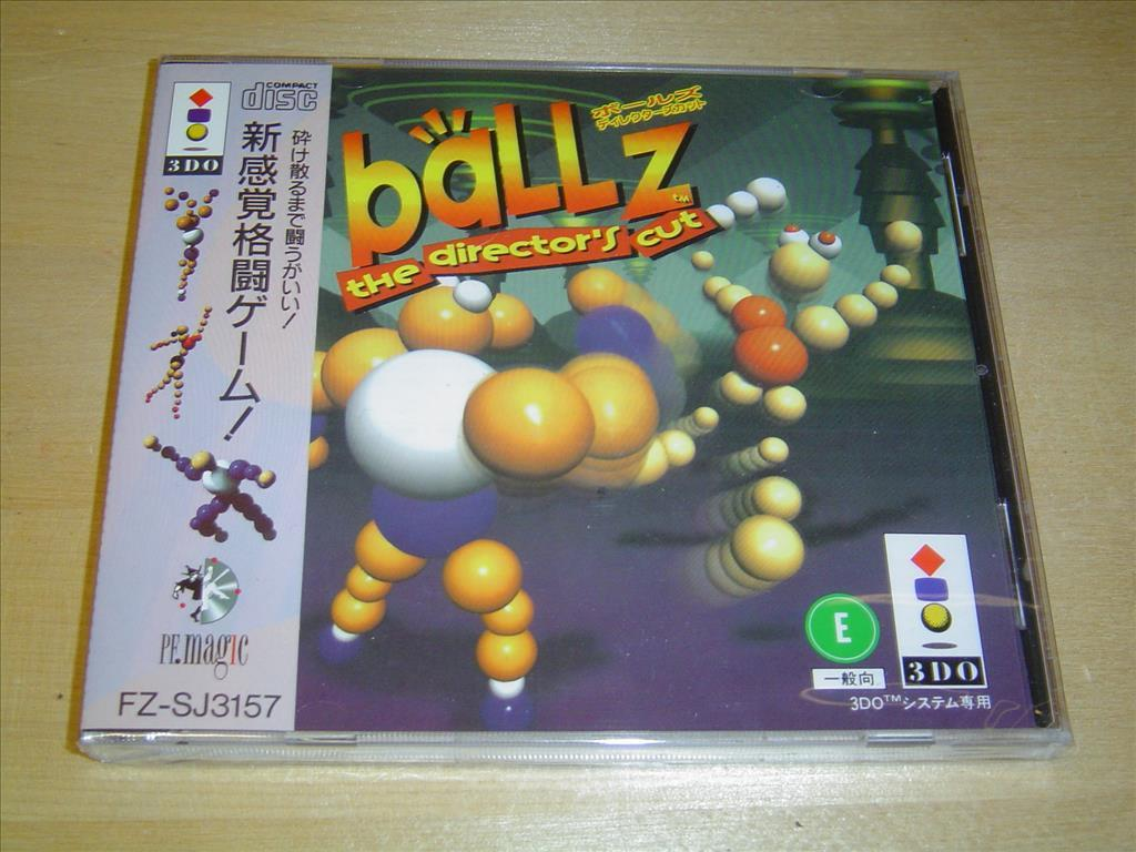 Ballz Directors Cut 3DO Japanskt *NYTT*