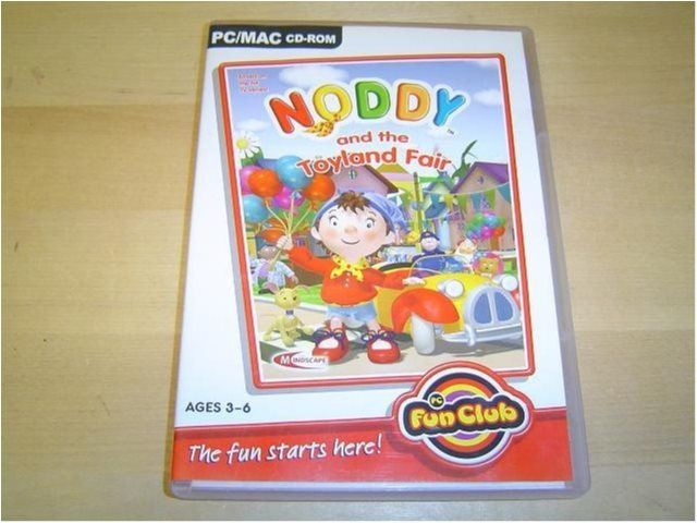 Noddy and The Toyland Fair PC CD-ROM *NYTT*