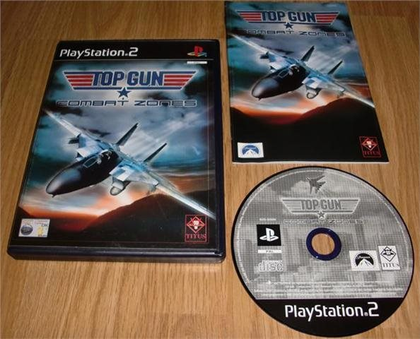 PS2: Top Gun Combat Zones