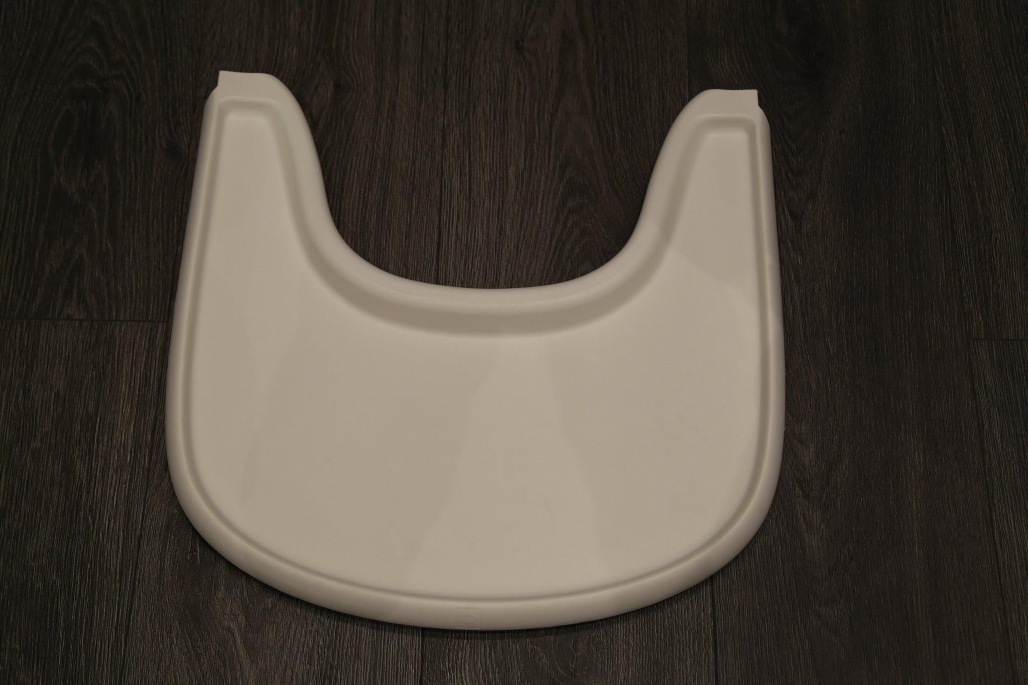 baby bord till stokke tripp trapp stol, vit.. (311835186) ᐈ köp på
