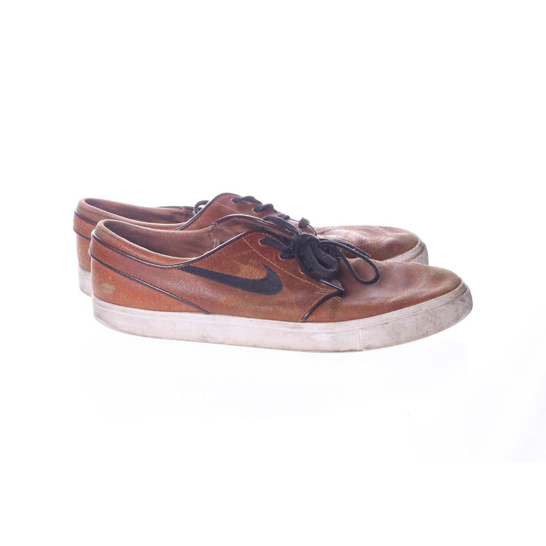 new style 602cf a1a65 Nike SB Stefan Janoski, Sneakers, Strl  45, Svart Brun, Skinn