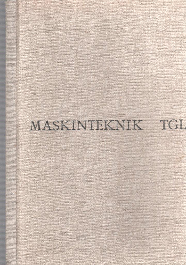 Maskinteknink TGL - Nordberg